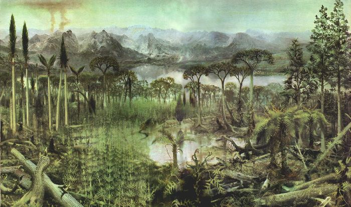Леса доисторического периода