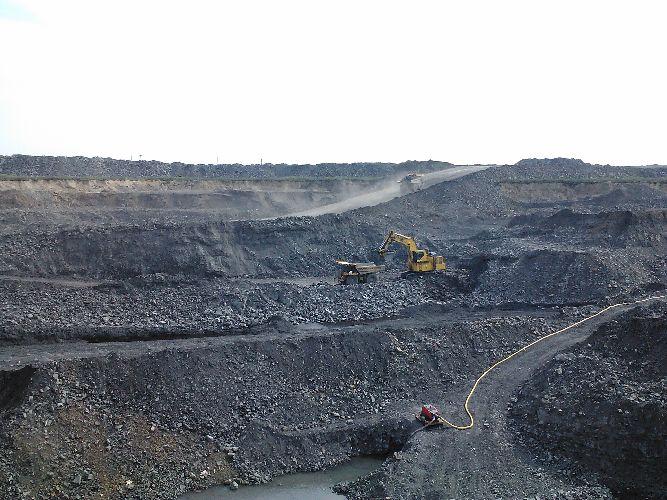 Угольный карьер, Воркута