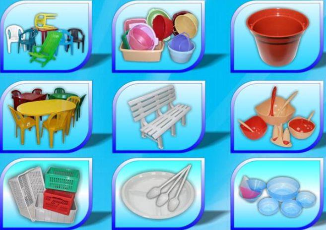 Изделия из различных пластмасс