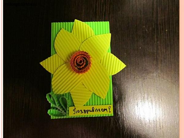 Открытки с днем рождения из картона и бумаги своими руками