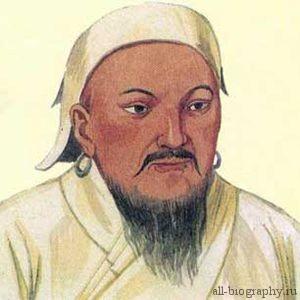 Чингисхан детство и юность
