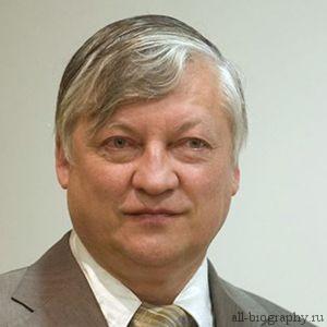 Биография Анатолий Карпов
