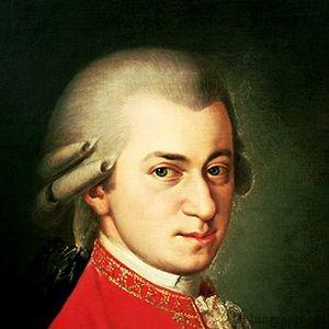 Вольфганг Амадей Моцарт фото