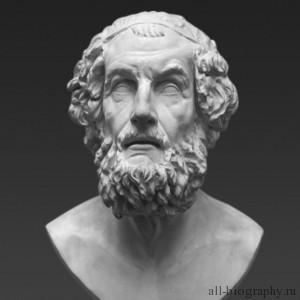Творчество и биография древнегреческого писателя гомера