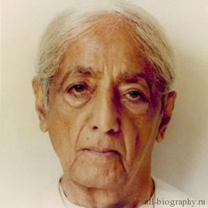 Биография Джидду Кришнамурти
