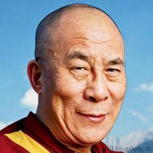 Биография Далай Лама