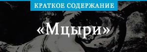 Краткое содержание «Мцыри»