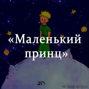 Краткое содержание «Маленький принц»