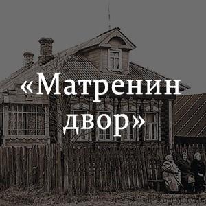 Краткое содержание «Матренин двор»