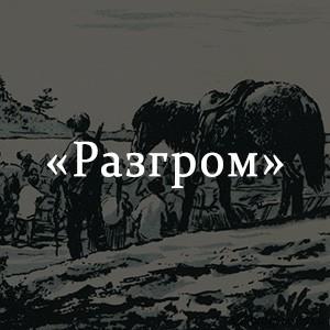 Краткое содержание «Разгром»