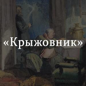 Краткое содержание «Крыжовник»