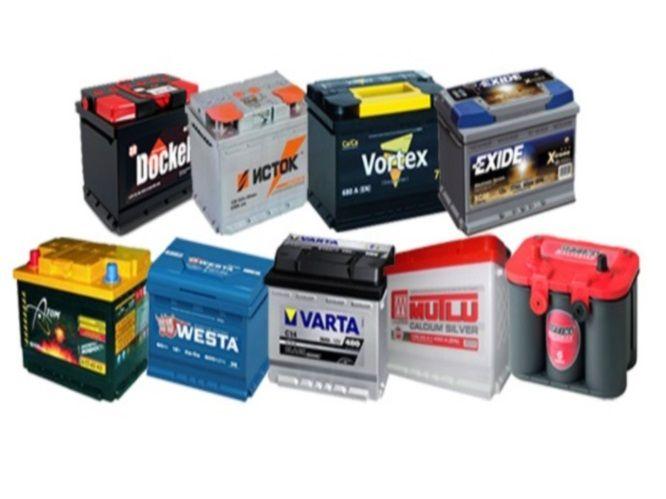 Примеры аккумуляторов: