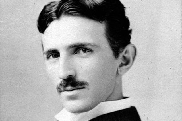 Портрет Никола Тесла