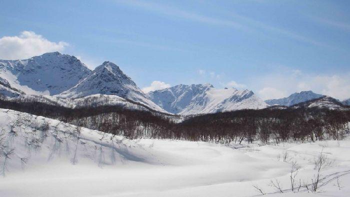 Срединный хребет, Камчатский край