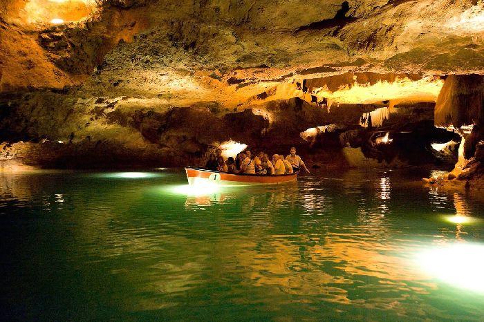 Подземная река в пещерах Святого Иосифа, Валенсия