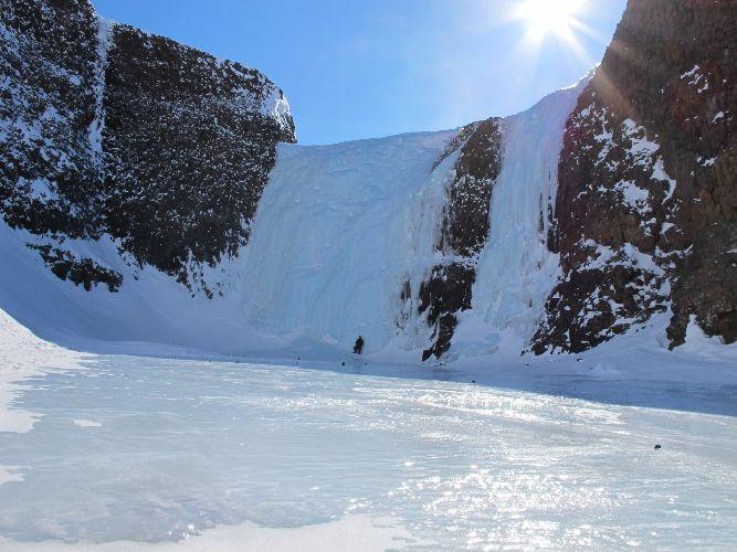 Ледопады плато Путорана