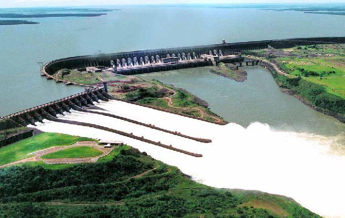 Река Парана, ГЭС Итайпу