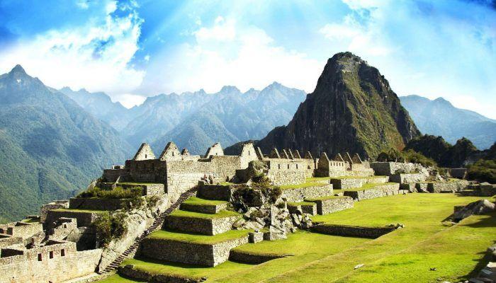 Город индейцев Мачу-Пикчу в Перу
