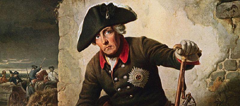 Король Пруссии Фридрих ΙΙ Великий