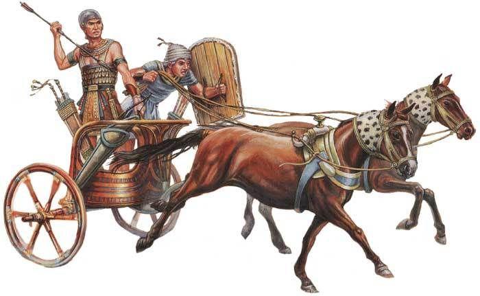 Колесница фараона картинка