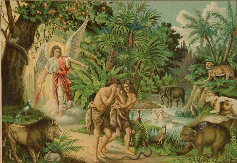 Изгнание Адама и Евы из рая