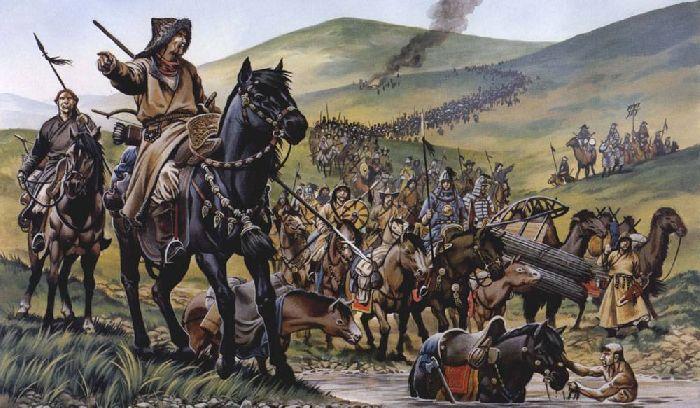 Войско хана Батыя