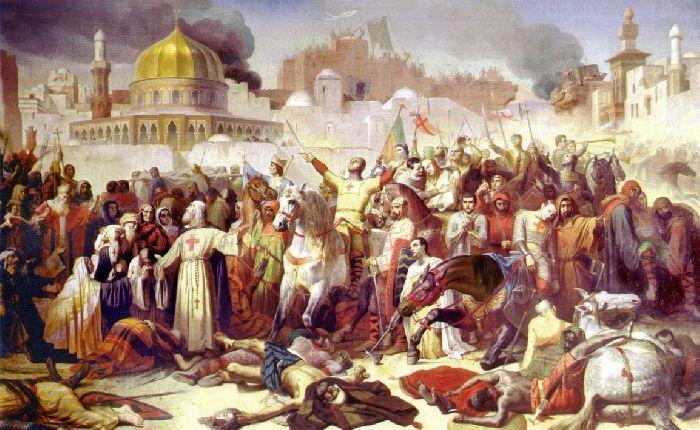 Захват Иерусалима крестоносцами