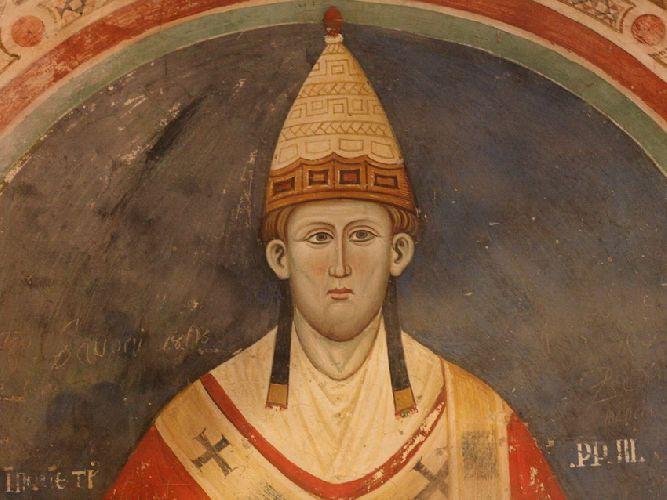 Фреска Папа Иннокентий III