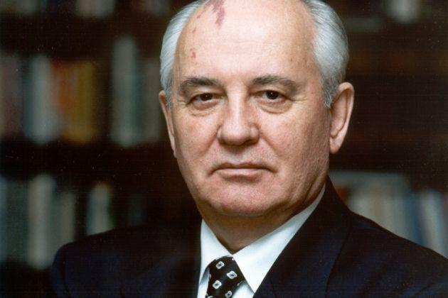 Портрет М. С. Горбачева