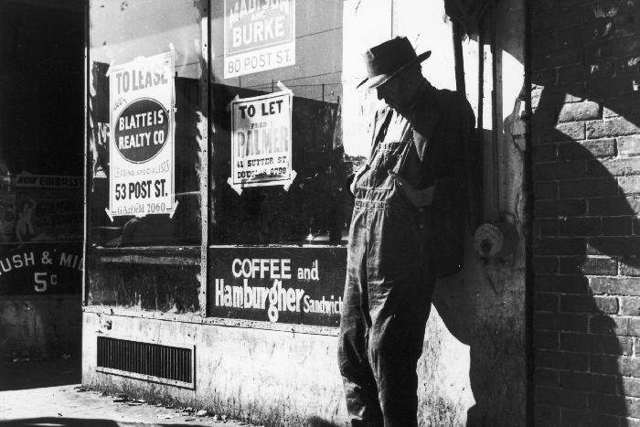 Американский рабочий периода Великой депрессии