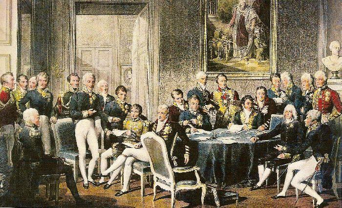 Венский конгресс 1815 года. Ж.-Б. Изабе. 1815