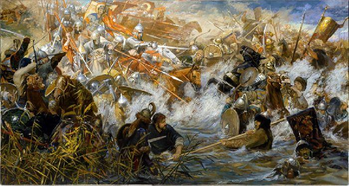 Битва на Воже картина