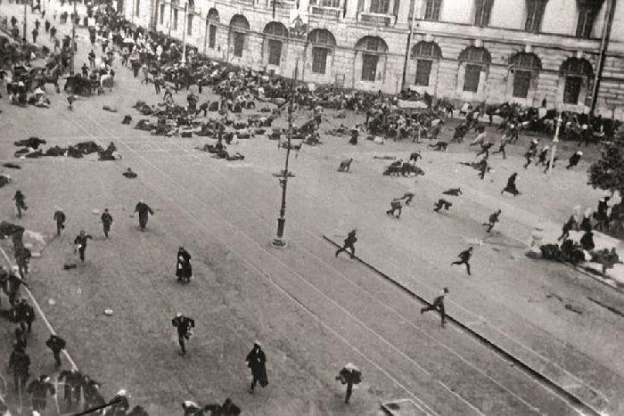 Июль 1917 петроград