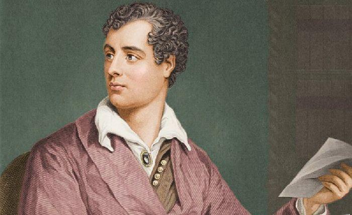 Байрон портрет
