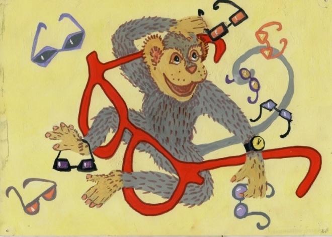 при картинки крылова обезьяна и очки флаг армении