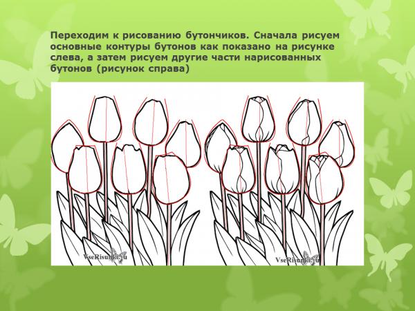 Изо открытка 8 марта презентация, картинка днем