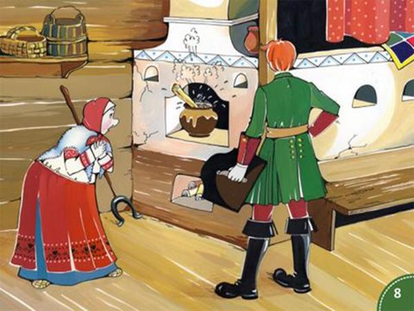 Картинки для детей каша из топора