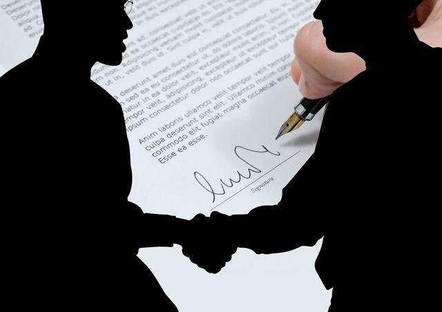 Давайте подпишем договор
