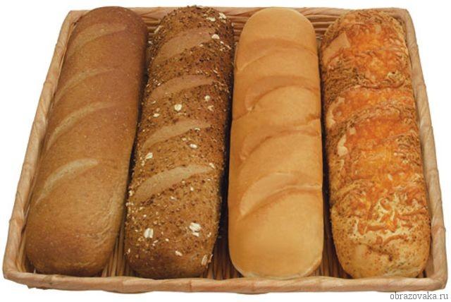 Морфологический разбор «хлеб»