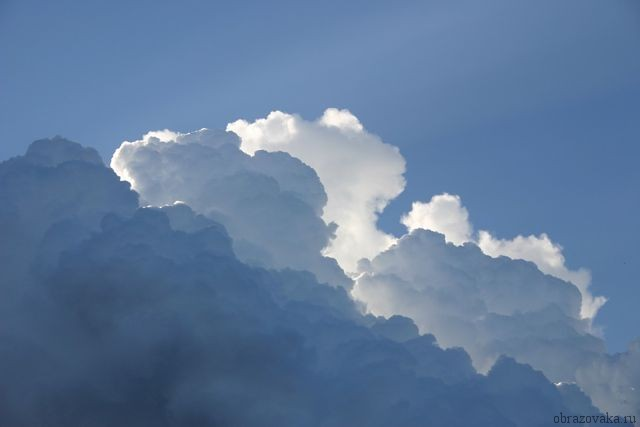 Морфологический разбор «облака»