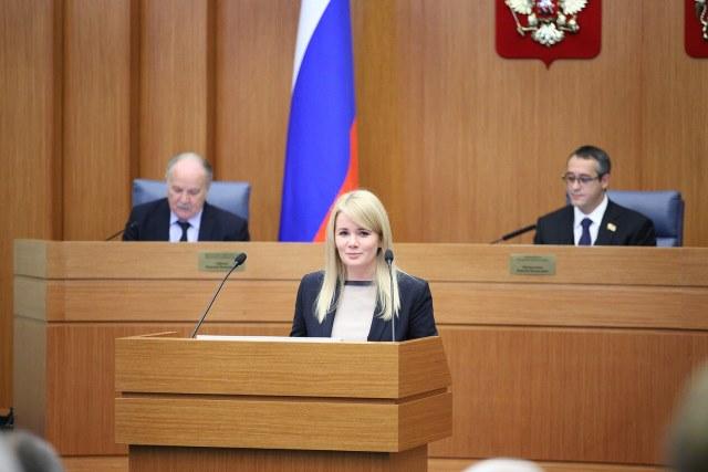 Наталья Алексеевна Сергунина в Московской городской думе