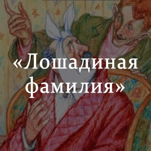 Краткое содержание «Лошадиная фамилия»