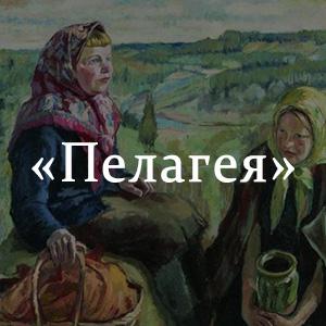 Краткое содержание «Пелагея»