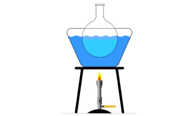 Нагревание на водяной бане
