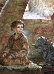 Краткое содержание «Мальчик у Христа на Елке»