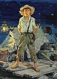 Краткое содержание «Приключения Гекльберри Финна»