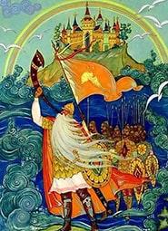 Краткое содержание «Сказка о царе Салтане»
